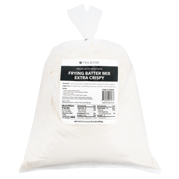 Tea Zone Frying Batter Mix, Extra Crispy - 13.22 lbs bag