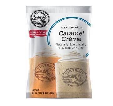 Big Train BLENDED CREME Caramel Powder (3.5 lbs bag)