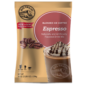 Big Train Espresso Blended Ice Coffee Mix (3.5 lbs), P6003