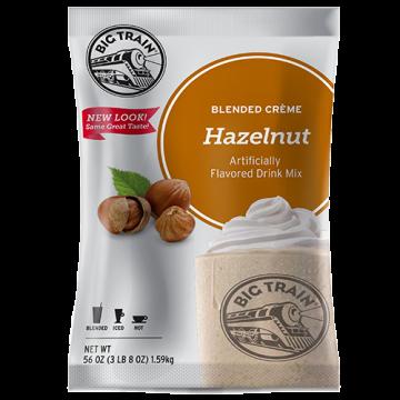 Big Train Hazelnut Blended Creme Frappe Mix (3.5 lbs), P6008