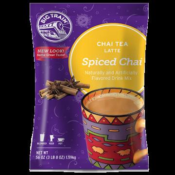 Big Train Spiced Chai Tea Latte Mix (3.5 lbs), P6020