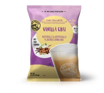 Big Train Vanilla Chai Tea Latte Beverage Mix (3.5 lbs)