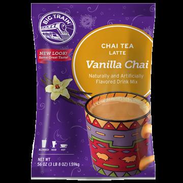 Big Train Vanilla Chai Tea Latte Mix (3.5 lbs), P6021