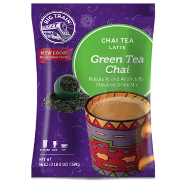 Big Train Green Tea Chai Tea Latte Mix (3.5 lbs), P6023