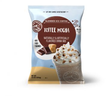 Big Train Toffee Mocha Blended Ice Coffee Beverage Mix (3.5 lbs)