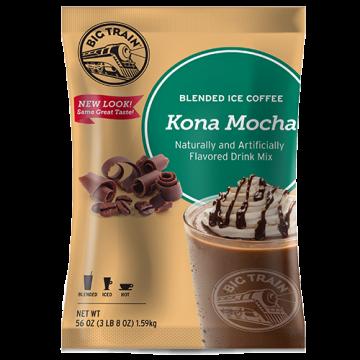 Big Train Kona Mocha Blended Ice Coffee Mix (3.5 lbs), P6029