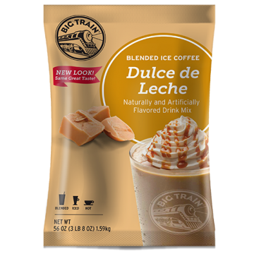 Big Train Dulce De Leche Blended Ice Coffee Mix (3.5 lbs), P6033