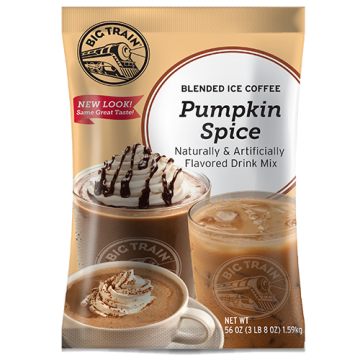 Big Train Pumpkin Spice Blended Ice Coffee Mix (3.5 lbs)