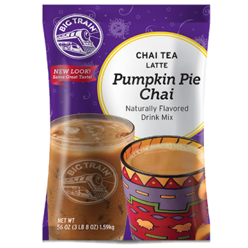 Big Train Pumpkin Pie Chai Tea Latte Mix (3.5 lbs)