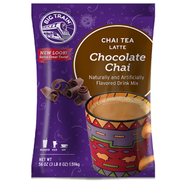 Big Train Chocolate Chai Tea Latte Mix (3.5 lbs), P6039