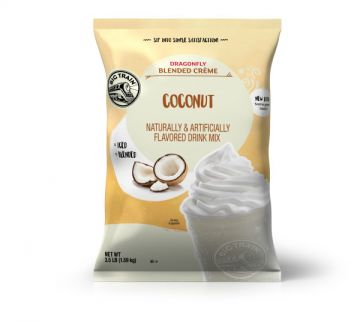 Big Train Dragonfly Coconut Blended Crème Beverage Mix (3.5 lbs)