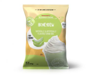 Big Train Dragonfly Honeydew Blended Creme Frappe Mix (3.5 lbs)