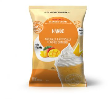 Big Train Dragonfly Mango Blended Creme Frappe Mix (3.5 lbs)