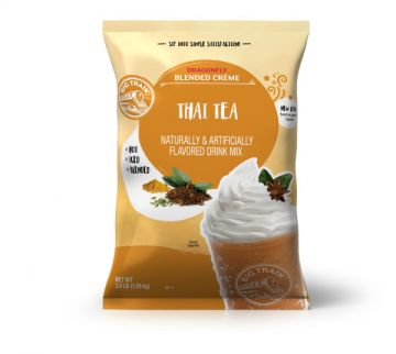 Big Train Dragonfly Thai Tea Blended Crème Beverage Mix (3.5 lbs)
