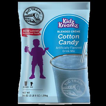 Big Train Cotton Candy Kidz Kreamz Frappe Mix (3.5 lbs), P6061