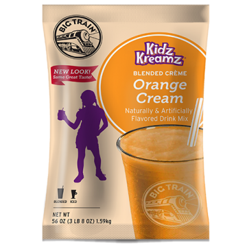 Big Train Orange Cream Kidz Kreamz Frappe Mix (3.5 lbs), P6062