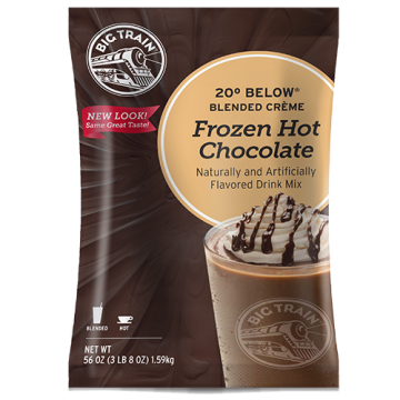 Big Train 20 Below Frozen Hot Chocolate Mix (3.5 lbs), P6080