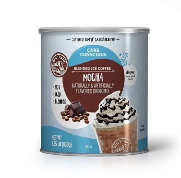 Big Train Low Carb Mocha Blended Ice Coffee Mix (1.85 lbs)