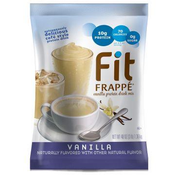 Big Train Fit Frappe Protein Drink Mix Vanilla (3 lb), P6095