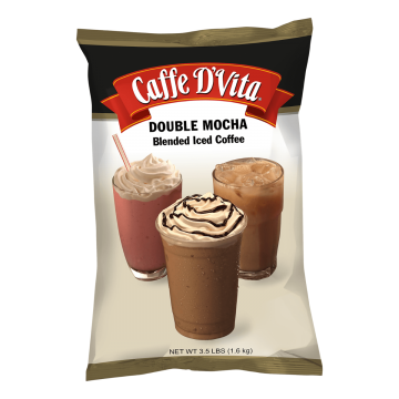 Caffe D'Vita Double Mocha Latte Blended Iced Coffee (3.5 lbs)