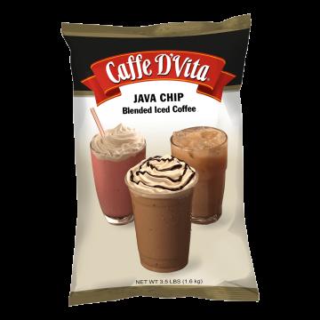 Caffe D'Vita Java Chip Latte Blended Ice Coffee (3.5 lbs)