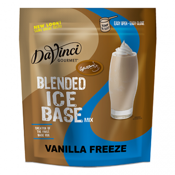 DaVinci Vanilla Freeze Frappe Base Mix (3 lbs)