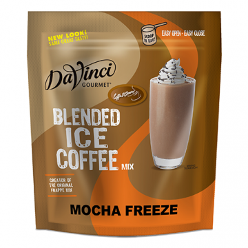 DaVinci Mocha Freeze Blended Ice Coffee Mix (3 lbs) - Formerly Caffe D'Amore, P7201