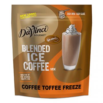 DaVinci Coffee Toffee Freeze Blended Ice Coffee Mix - 2.75 lbs