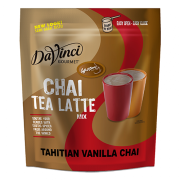 DaVinci Tahitian Vanilla Chai Latte Mix (3 lbs) - Formerly Caffe D'Amore, P7241