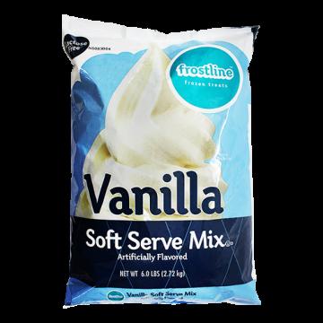 Frostline Vanilla Soft Serve Mix (6 lbs), P7700