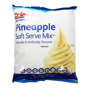 Dole Soft Serve Mix - Pineapple (4.4 lbs), P7714