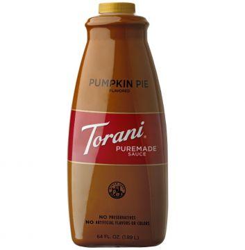 Torani Pumpkin Pie Puremade Sauce 64 oz