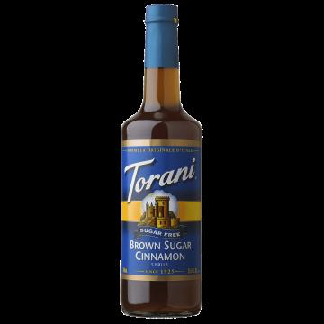 Torani Sugar Free Brown Sugar Cinnamon Syrup (750 mL), G-Brown Sugar Cinnamon-sf