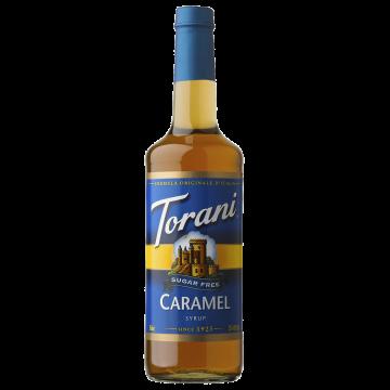 Torani Sugar Free Caramel Syrup (750 mL)