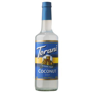 Torani Sugar Free Coconut Syrup (750 mL)