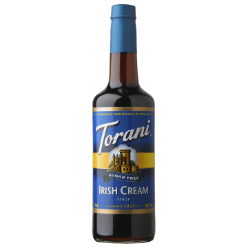 Torani Sugar Free Irish Cream Syrup (750 mL), G-Irish Cream-sf