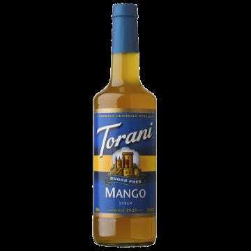 Torani Sugar Free Mango Syrup (750 mL), G-Mango-sf
