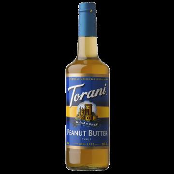 Torani Sugar Free Peanut Butter Syrup (750 mL), G-Peanut Butter-sf