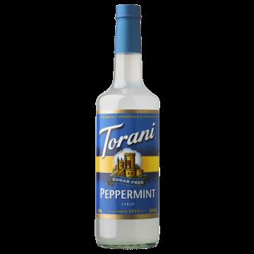 Torani Sugar Free Peppermint Syrup (750 mL)