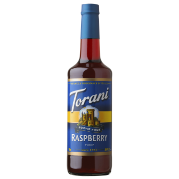 Torani Sugar Free Raspberry Syrup (750 mL), G-Raspberry-sf