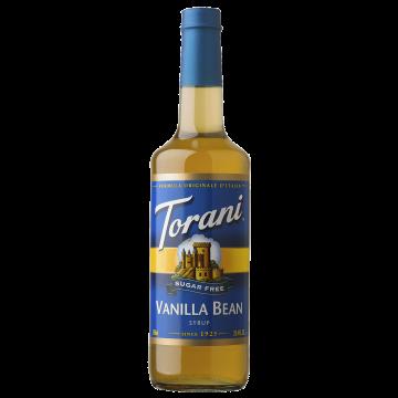 Torani Sugar Free Vanilla Bean Syrup (750 mL), G-Vanilla Bean-sf
