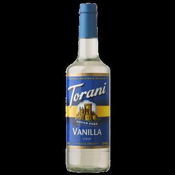 Torani Sugar Free Vanilla Syrup (750 mL)