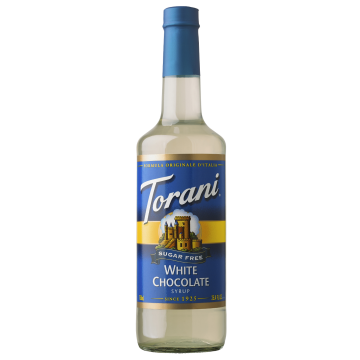 Torani Sugar Free White Chocolate Syrup (750 mL)
