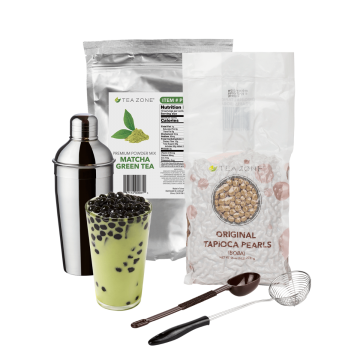 Tea Zone Matcha Boba Tea Starter Kit