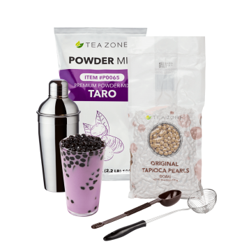 Tea Zone Taro Boba Tea Starter Kit