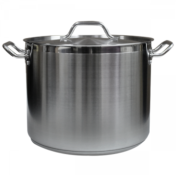 Stainless Steel Stock Pot (24qt), U1070