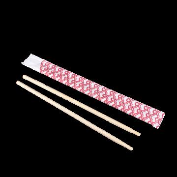 "Karat 9"" Paper Wrapped Bamboo Chopsticks - Dynasty"