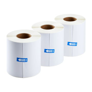 "4x6"" Direct Thermal Shipping Label (300 Labels/Roll) - Case of 24 Rolls"