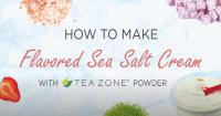 flavored sea salt cream