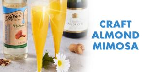 Craft Almond Mimosas